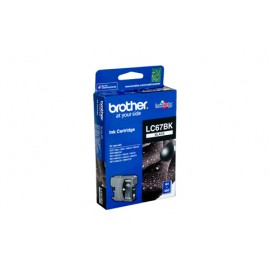 Genuine Brother LC-67BK Black Ink Cartridge