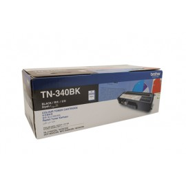 Genuine Brother TN-340BK Black Toner Cartridge