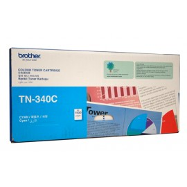 Genuine Brother TN-340C Cyan Toner Cartridge