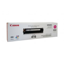 Genuine Canon CART416M Toner Cartridge