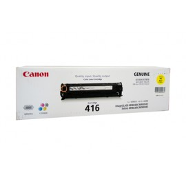 Genuine Canon CART416Y Yellow Toner Cartridge