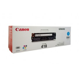 Genuine Canon CART418C Toner Cartridge