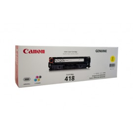 Genuine Canon CART418Y Toner Cartridge