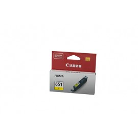 Genuine Canon CLI651Y Ink Cartridge