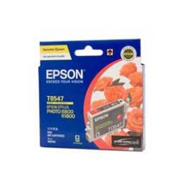 Genuine Epson T0547 Ink Cartridge