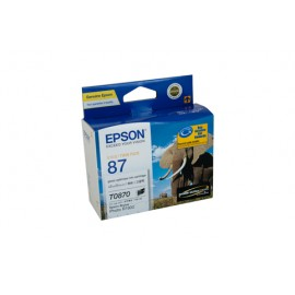 Genuine Epson T0870 Ink Cartridge