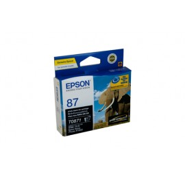 Genuine Epson T0871 Ink Cartridge