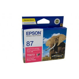 Genuine Epson T0873 Ink Cartridge