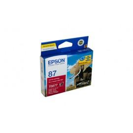 Genuine Epson T0877 Ink Cartridge