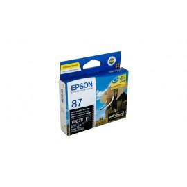 Genuine Epson T0878 Ink Cartridge