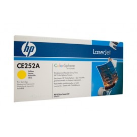 Genuine HP CE252A Yellow Toner Cartridge