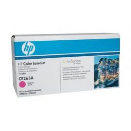 Genuine HP CE263A Magenta Toner Cartridge