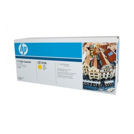 Genuine HP CE742A Yellow Toner Cartridge