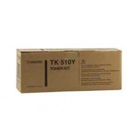 Genuine Kyocera TK-510Y Yellow Toner Cartridge