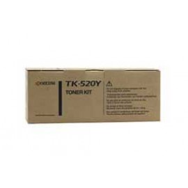 Genuine Kyocera TK-520Y Yellow Toner Cartridge