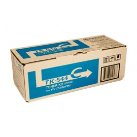 Genuine Kyocera TK-544C Toner Cartridge