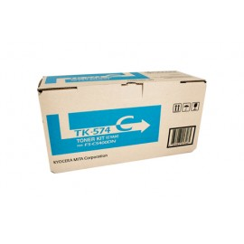 Genuine Kyocera TK-574C Cyan Toner Cartridge