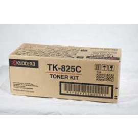 Genuine Kyocera TK-825C Cyan Toner Cartridge