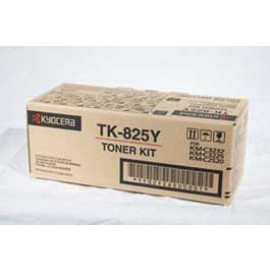 Genuine Kyocera TK-825Y Toner Cartridge