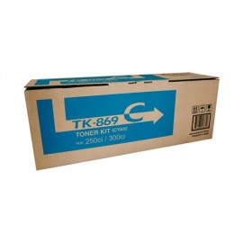Genuine Kyocera TK-869C Cyan Toner Cartridge