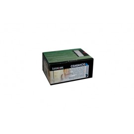 Genuine Lexmark C540A1CG Cyan Toner Cartridge