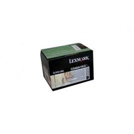 Genuine Lexmark C540A1KG Black Toner Cartridge