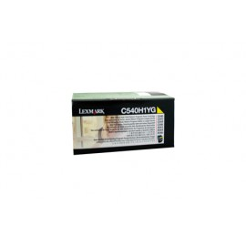 Genuine Lexmark C540H1YG High Yield Yellow Toner Cartridge