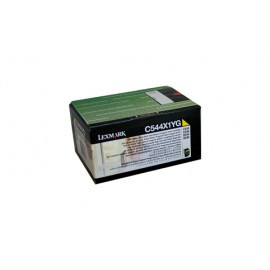 Genuine Lexmark C544X1YG Yellow Toner Cartridge