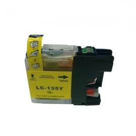 Compatible Brother LC135XLY High Yield Ink Cartridge