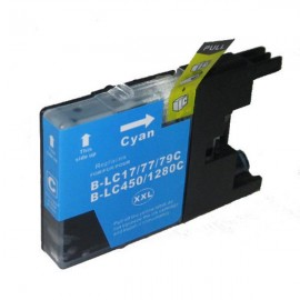 Compatible Brother LC77XLC High Yield Ink Cartridge