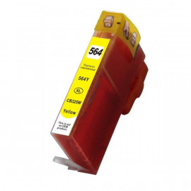 Compatible HP #564XL, Photo Black High Yield Ink Cartridge, #564XLY (CB322WA) High Yield Ink Cartridge