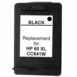 Compatible HP #60XL, #60XLBK (CC641WA) High Yield Ink Cartridge