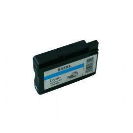 Compatible HP #933XL, Cyan High Yield Ink Cartridge, #933CXL (CN054AA) High Yield Ink Cartridge