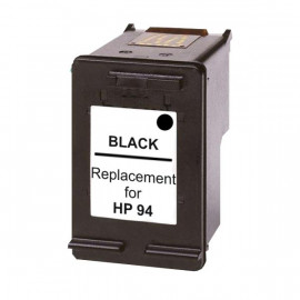 Remanufactured HP #94, Black Ink Cartridge, #94 (C8765WA) Ink Cartridge