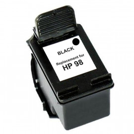 Remanufactured HP #98, Black Ink Cartridge, #98 (C9364WA) Ink Cartridge